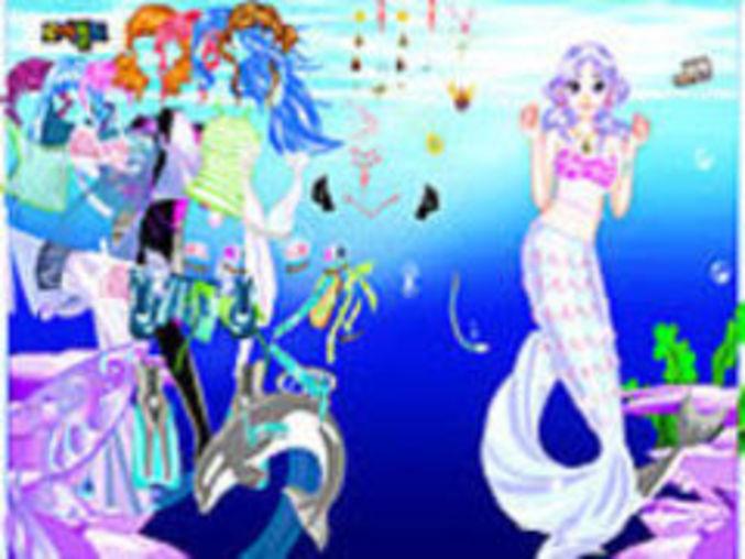 Seagirl Dressup