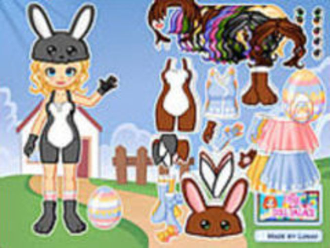 Dress Up Easter Bunny
