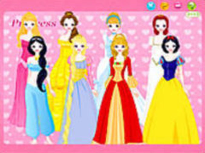 Cute Princess Dressup