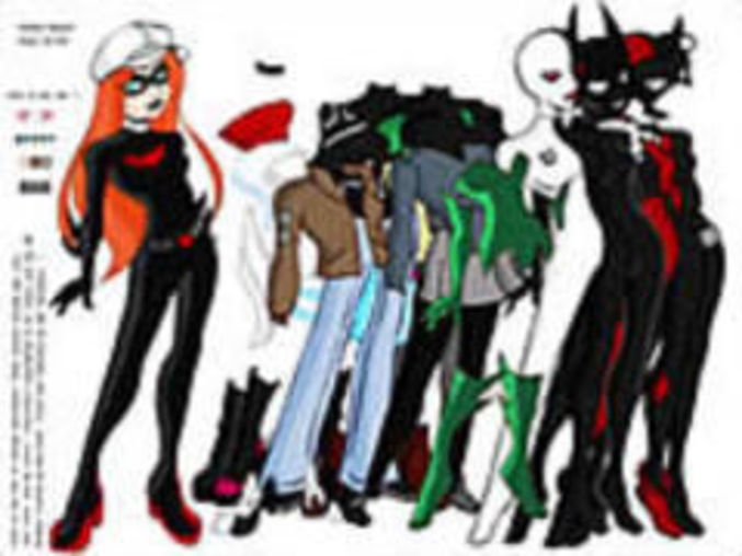Batman beyond dressup