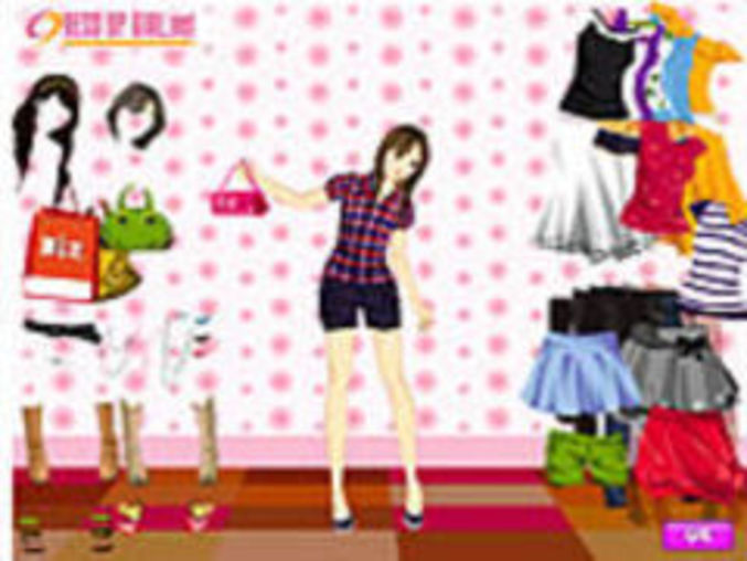 Summer Shopper Dressup