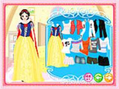 Snow White Dressup spielen