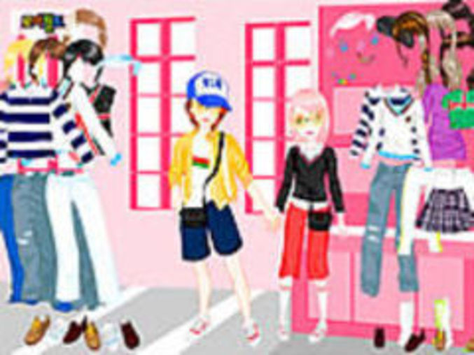 Shopping In Love Dressup