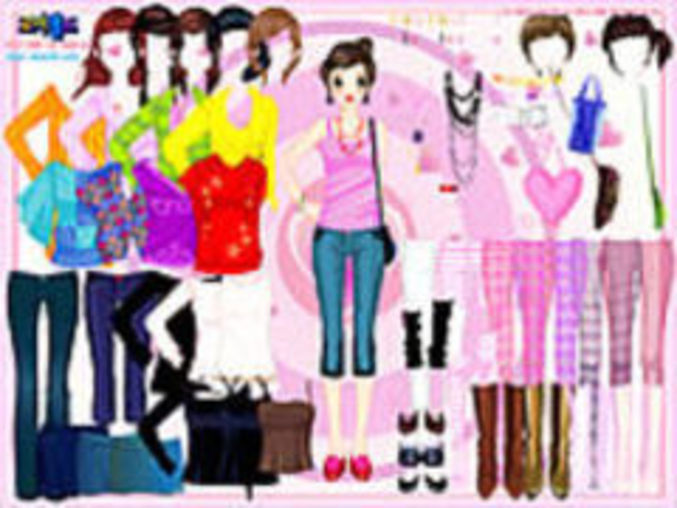Selma Pink DressUp