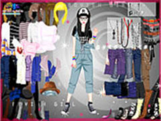 Marion Cool Dressup Game 1