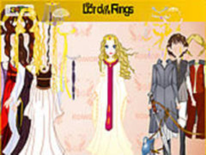 Lord Of Rings Dressup