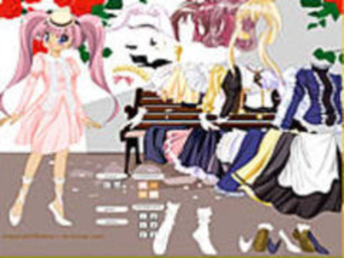 Manga Doll Dressup