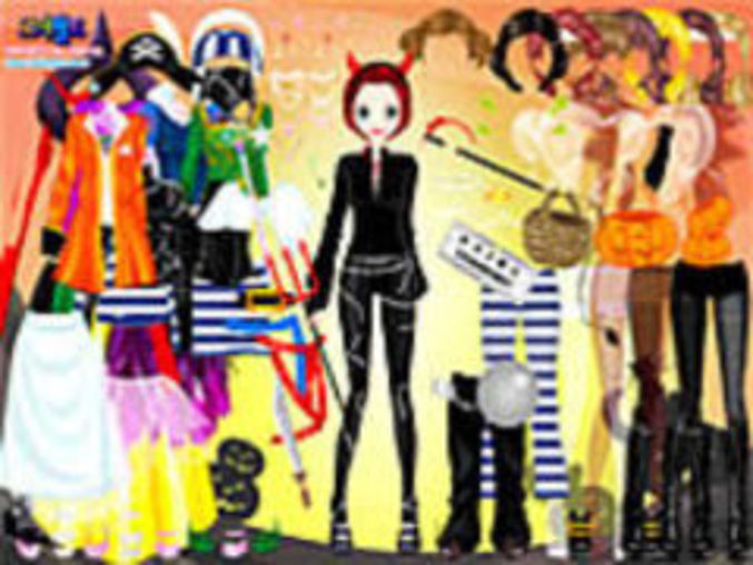 Halloween Dressup Game