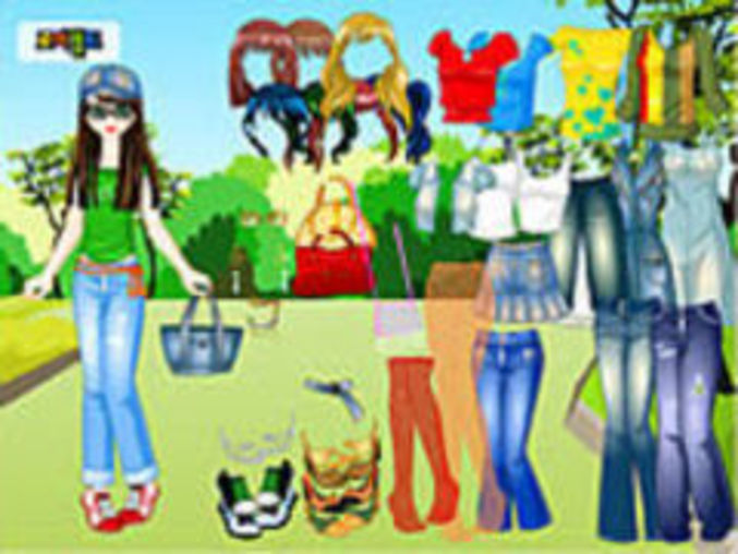 Forest Dressup Game