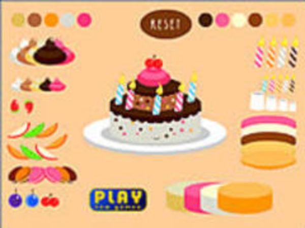 Bild zu Geschick-Spiel Dress The Cake