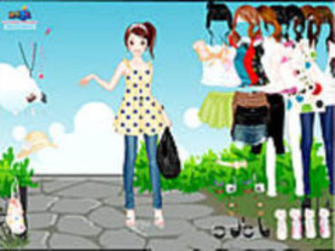 Dots Dressup Game