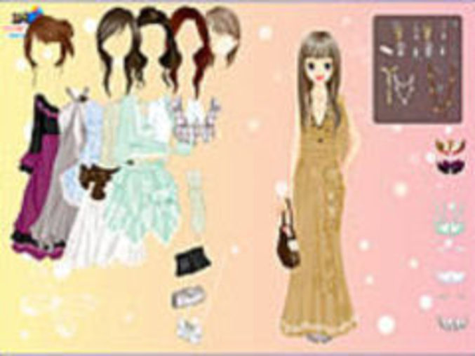 Chique Gown Dressup