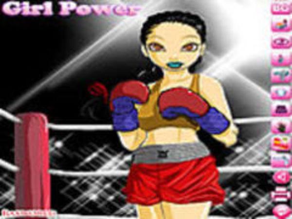 Bild zu Sport-Spiel Boxing Girl Dressup