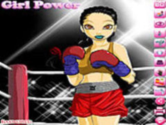 Boxing Girl Dressup