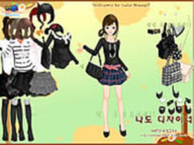 Black Fashion Dressup