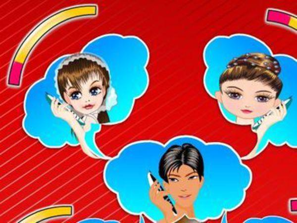 Bild zu Mädchen-Spiel Valentine Talk