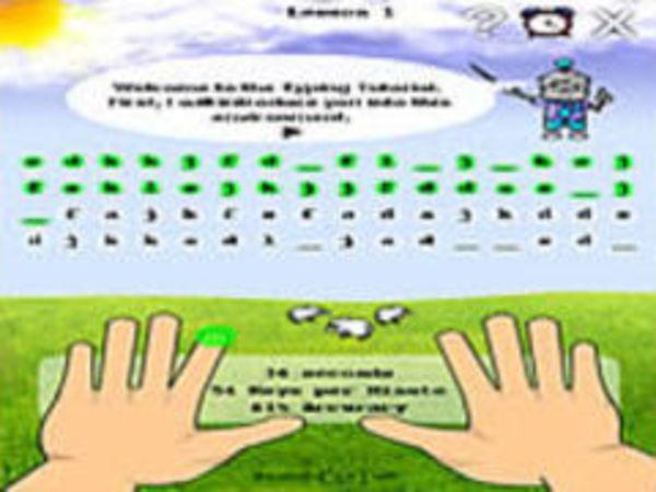 Bild zu Denken-Spiel Typing Game Collection