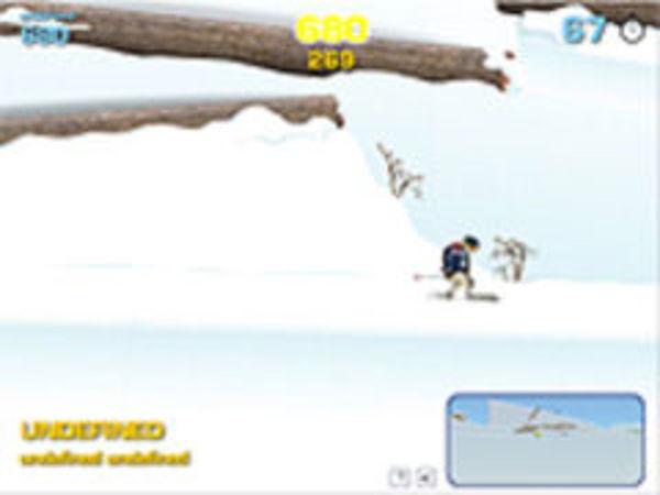 Bild zu Geschick-Spiel Twintip Ski