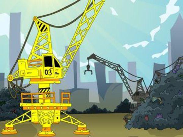 Bild zu Geschick-Spiel The Junk Yard Game