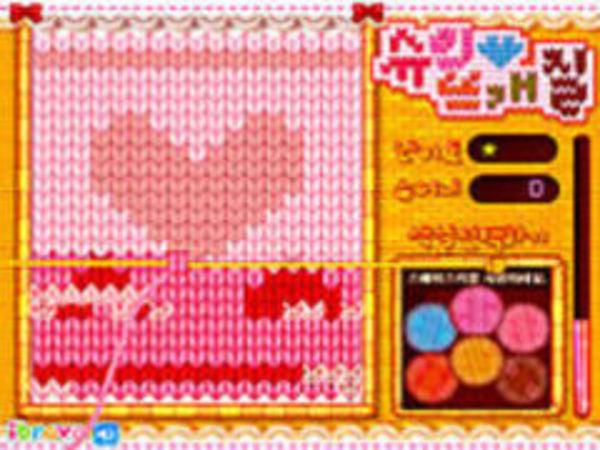Bild zu Kinder-Spiel Sue knitting