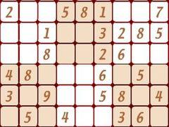 Sudoku 1 spielen
