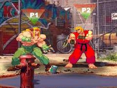 Streetfighter Alpha spielen