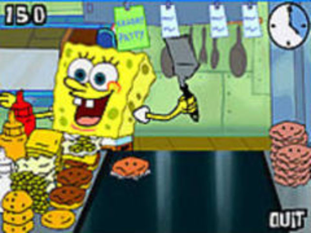 spongebob spielen