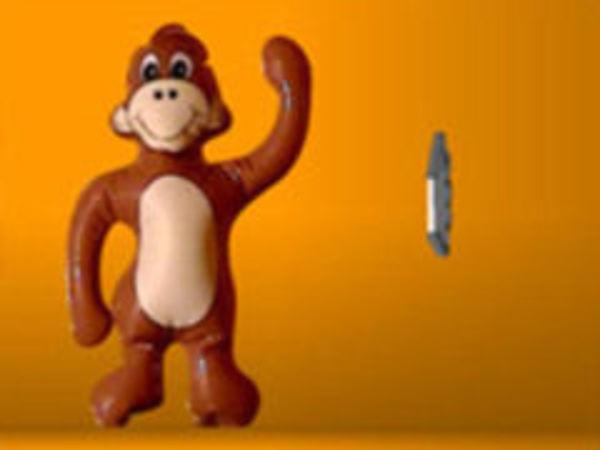 Bild zu Action-Spiel Spank The Monkey