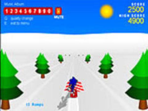 Bild zu Action-Spiel Sonic Snowboarding
