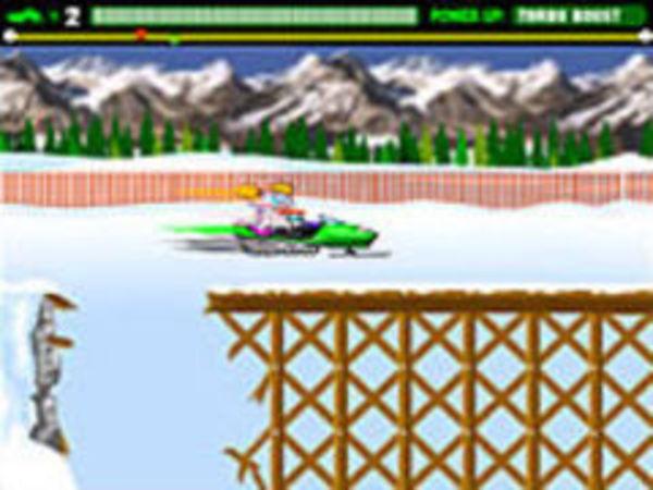 Bild zu Geschick-Spiel Snowmobile