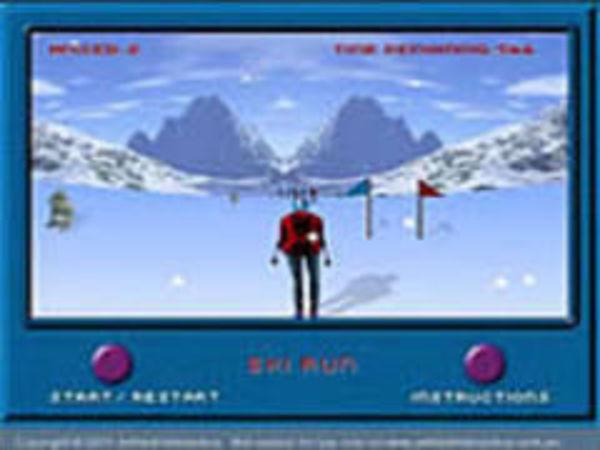 Bild zu Rennen-Spiel Skirun