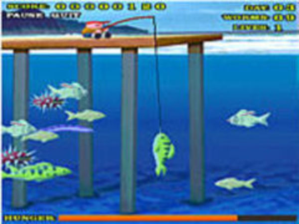 Bild zu Sport-Spiel Shark Bait