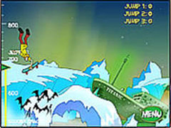 Bild zu Geschick-Spiel Scooby Doo Big Air 2