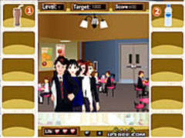 Bild zu Denken-Spiel School Cafeteria