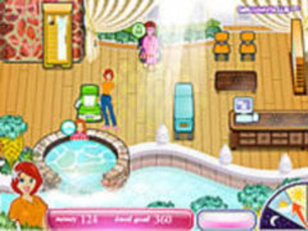 Bild zu Mädchen-Spiel Sashas Health Spa