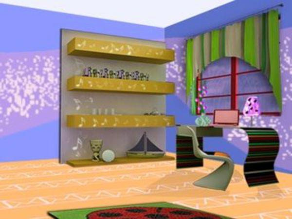 Bild zu Kinder-Spiel Realistic Room Design
