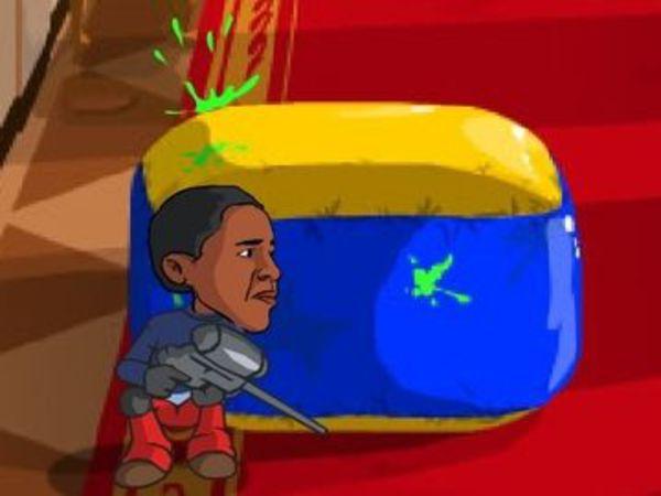 Bild zu Geschick-Spiel Presidential Paintball