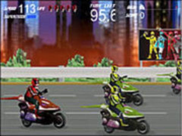 Bild zu Rennen-Spiel Pji Power Rangers Mystic3