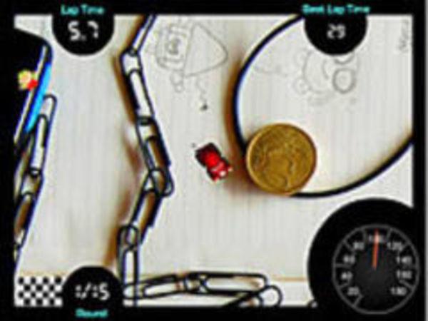 Bild zu Rennen-Spiel Mini Toy Car Racing