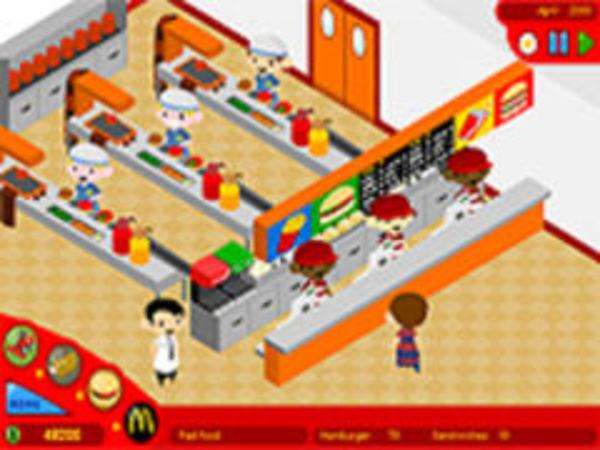 Bild zu Mädchen-Spiel McDonalds 1