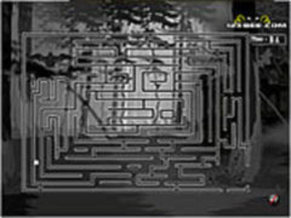 Bild zu Denken-Spiel Gespenster Labyrinth