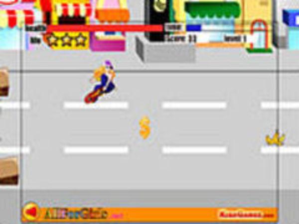 Bild zu Geschick-Spiel Maximal Skateboard