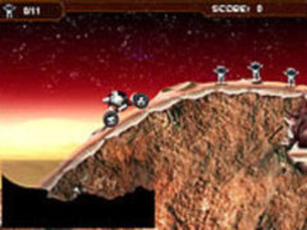 Bild zu Rennen-Spiel Mars Buggy