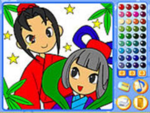 Bild zu Kinder-Spiel Manga Mania Coloring