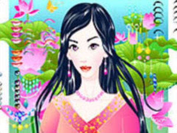 Bild zu Kinder-Spiel Magic Garden Makeup
