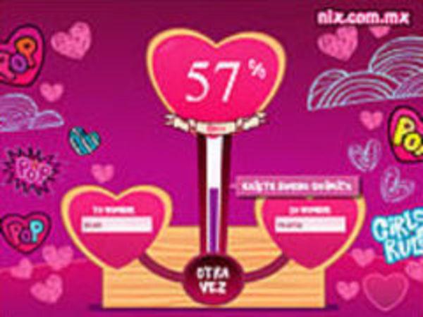 Bild zu Mädchen-Spiel Lovetest