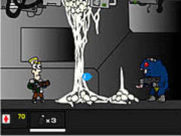 Bild zu Rennen-Spiel Alien Carnage