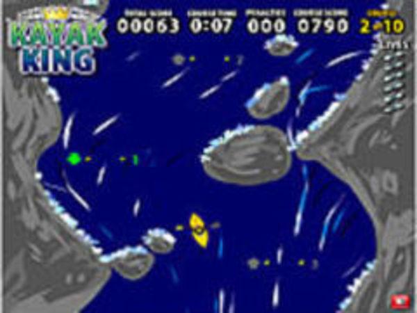 Bild zu Rennen-Spiel Kayak King