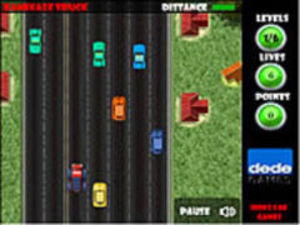 Bild zu Geschick-Spiel Kamikaze Truck