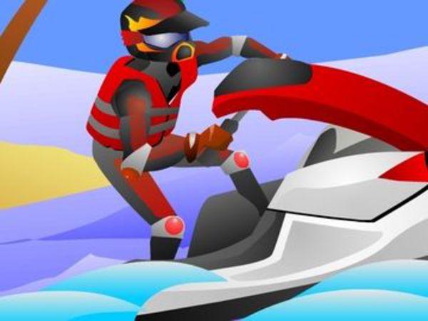 Bild zu Rennen-Spiel Jet Ski Rush